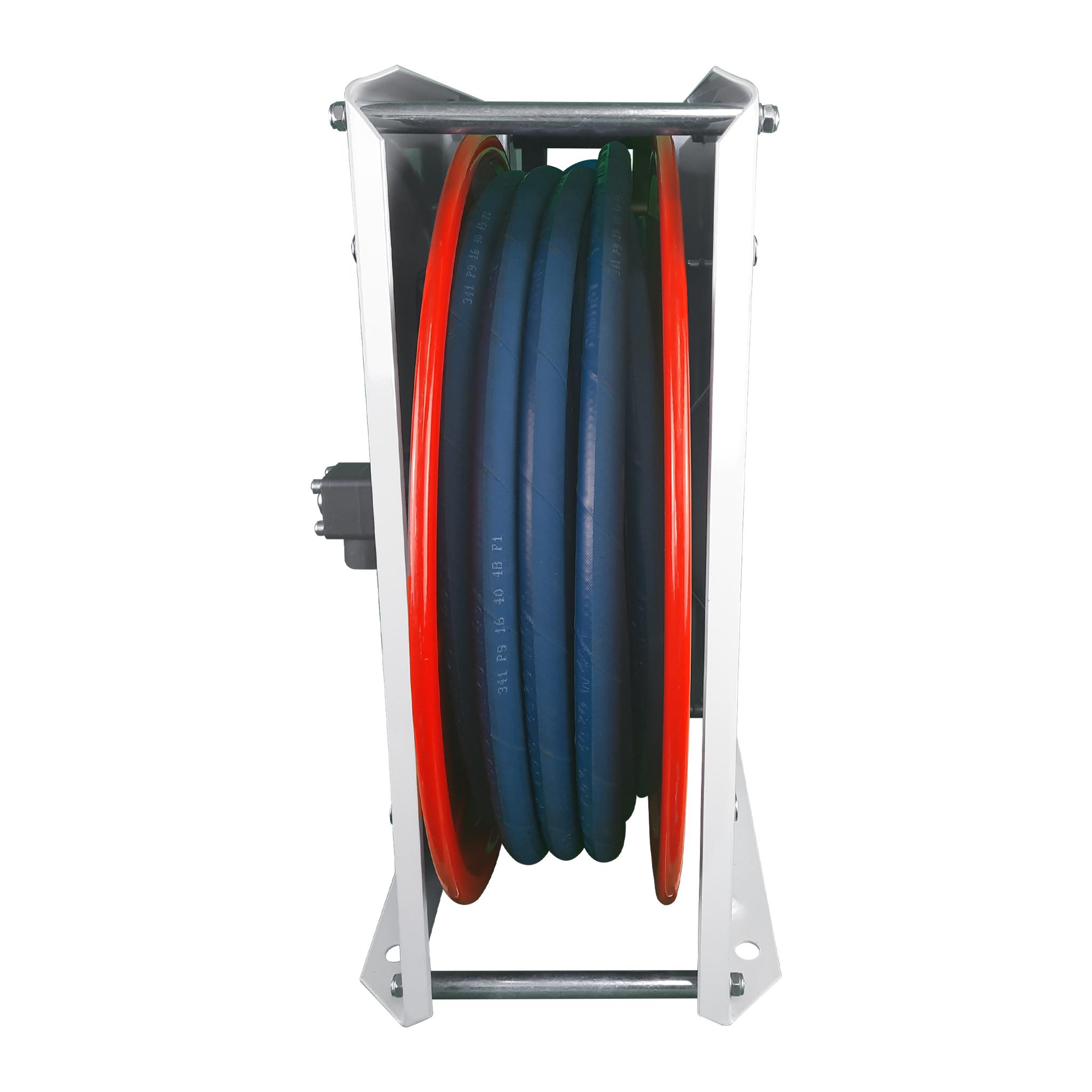 Automatischer Schlauchaufroller aus Stahlblech